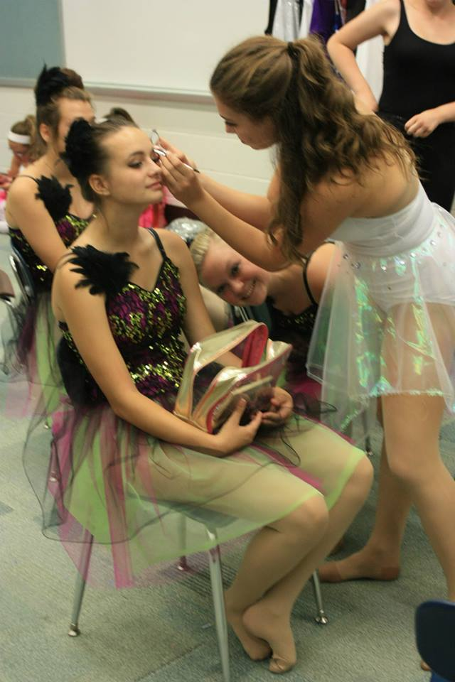 Recital 2014 - Makeup Time